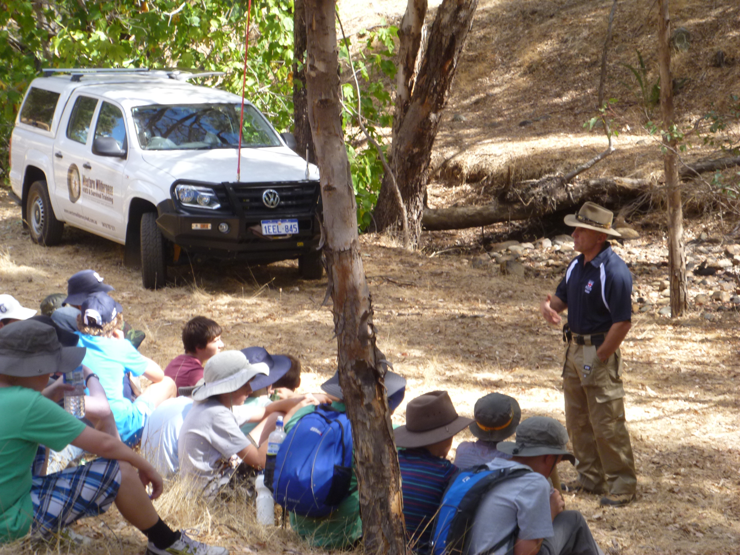 western wilderness 4wd and survival training4wd training course