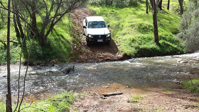 Learn water crossing techniques for four-wheel drive owners in Perth.