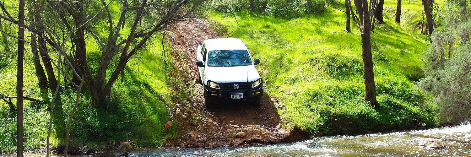 Learn to safely perform a water crossing in your four-wheel drive with Western Wilderness 4WD training in Perth, WA.